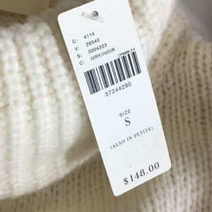 Anthropologie Sweaters - Anthropologie Ivory Chunky Turtleneck Wool Sweater